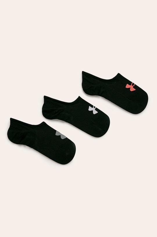 čierna Under Armour - Členkové ponožky (3 pack) Dámsky