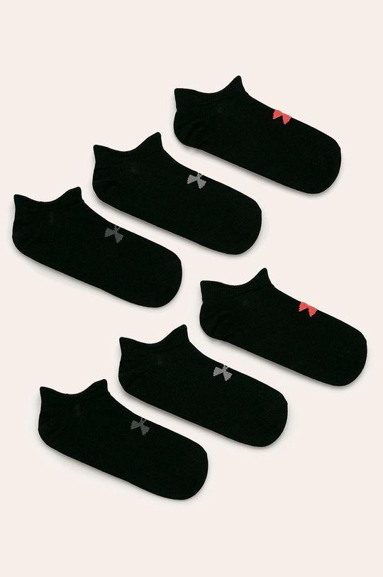 negru Under Armour - Sosete (6-pack) De femei