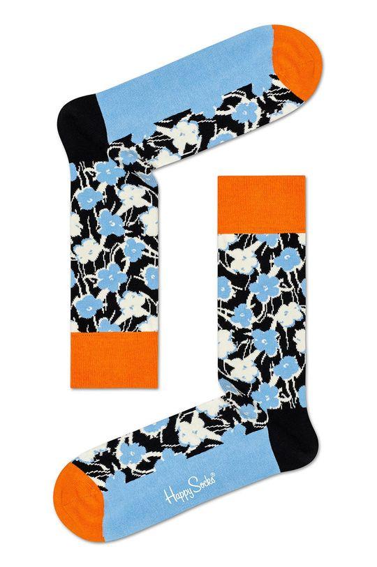Happy Socks - Ponožky (3-pack) 86% Bavlna, 12% Nylon, 2% Spandex