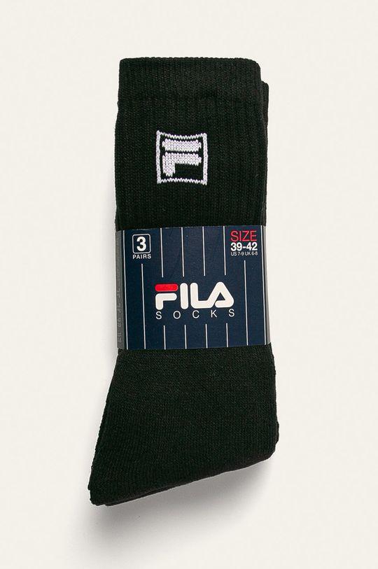 Fila - Skarpety (3-pack) czarny