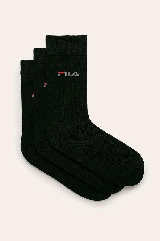 černá Fila - Ponožky (3 pack) Dámský