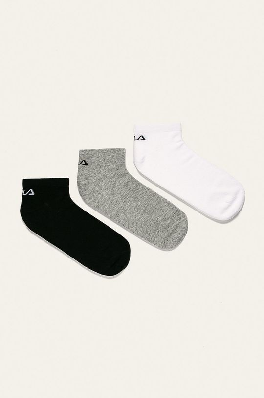 biela Fila - Ponožky (3-pack) Dámsky