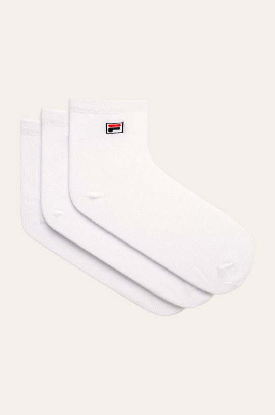 biały Fila - Skarpetki (3 pack) Damski