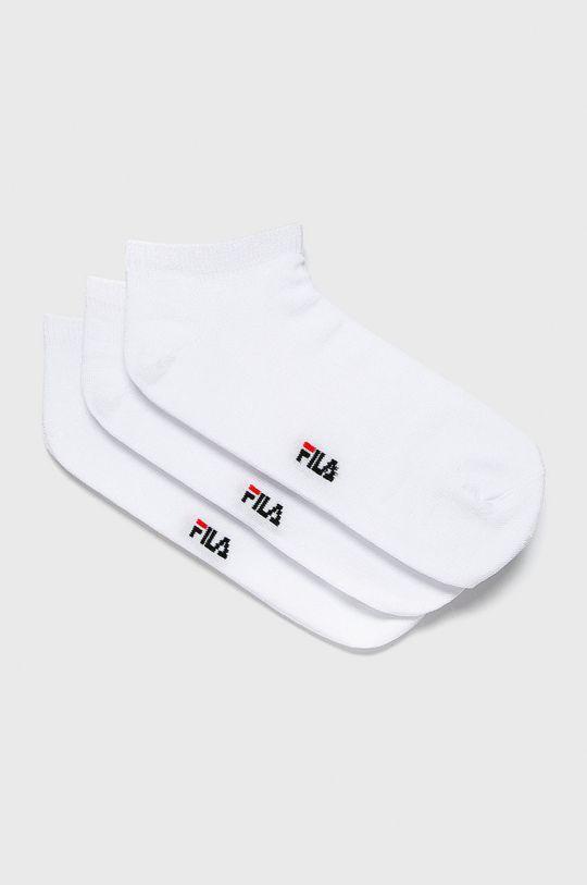 bílá Fila - Ponožky (3 pack) Dámský