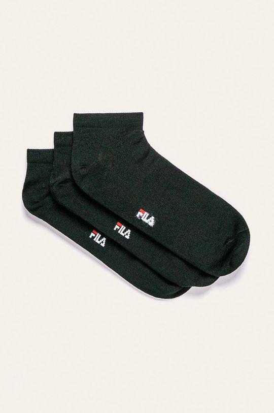 čierna Fila - Ponožky (3 pak) Dámsky