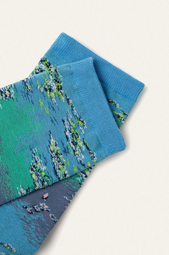 HotSox - Sosete Monet Waterlillies-Claude Monet albastru