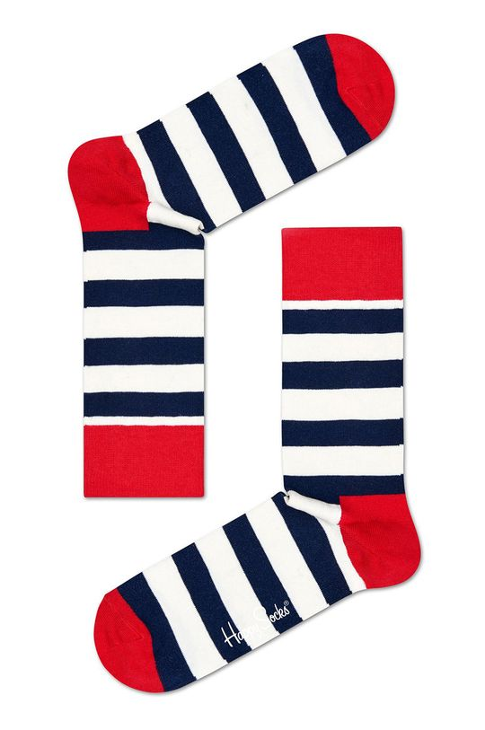 Happy Socks - Skarpetki (3-pak) granatowy