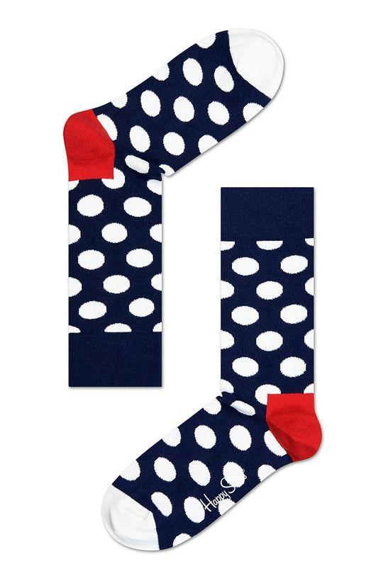 Happy Socks - Skarpetki (3-pak) 86 % Bawełna, 2 % Elastan, 12 % Poliamid