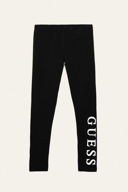 czarny Guess Jeans - Legginsy dziecięce 118-175 cm Dziewczęcy