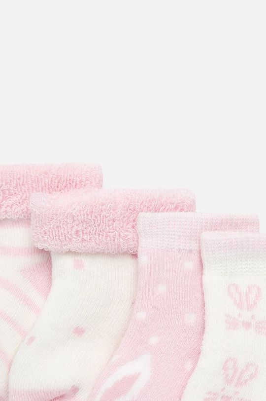 Mayoral - Детски чорапи (4-бройки) 62-86 cm розов