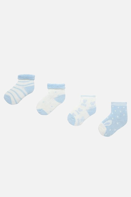 светлосин Mayoral - Детски чорапи (4-бройки) 62-86 cm Дитячий