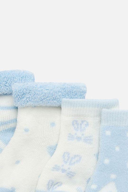 Mayoral - Детски чорапи (4-бройки) 62-86 cm светлосин
