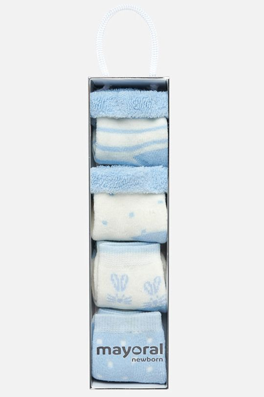 Mayoral - Детски чорапи (4-бройки) 62-86 cm  68% Памук, 4% Еластан, 28% Полиамид