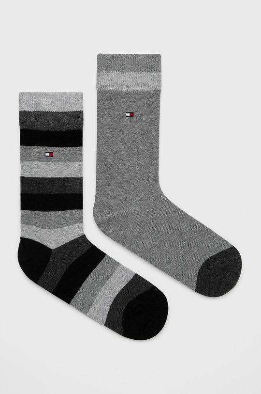 šedá Tommy Hilfiger - Dětské ponožky (2-pack) Dětský