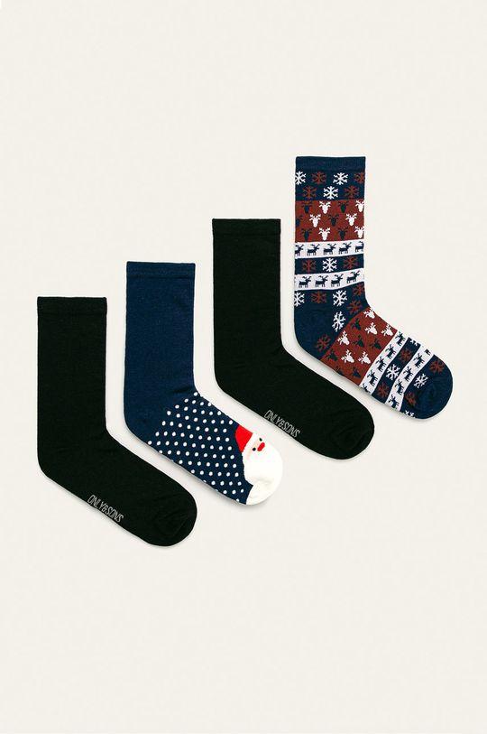 tmavomodrá Only & Sons - Ponožky (4 pak) Pánsky