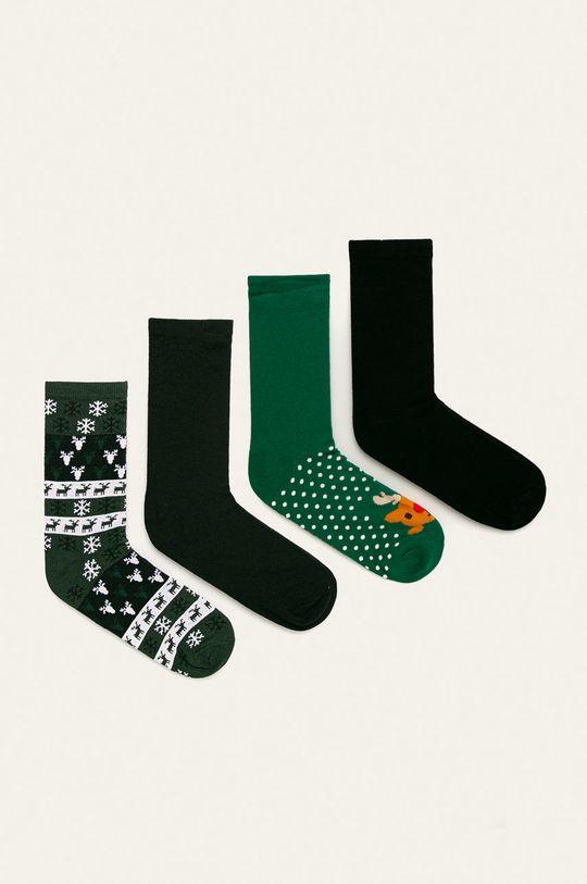 stalowy zielony Only & Sons - Skarpety (4 pack) Męski