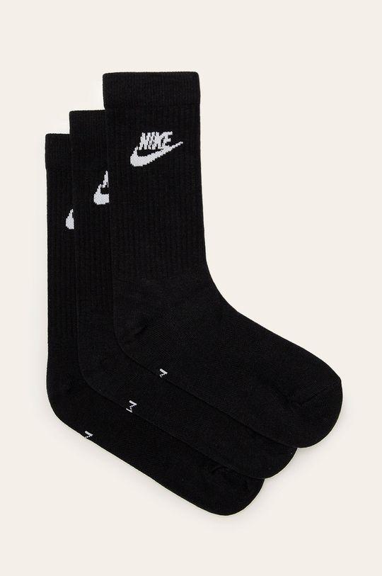 czarny Nike Sportswear - Skarpety (3-pack) Męski