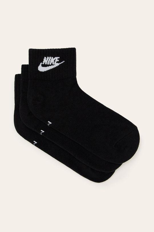 černá Nike Sportswear - Ponožky (3-pack) Pánský