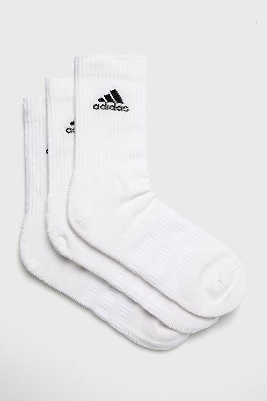 biela adidas Performance - Ponožky (3-pak) Pánsky