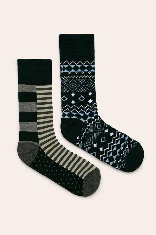 Pepe Jeans - Чорапи Kingsley (5 бройки)  Материал 1: 1% Еластан, 21% Полиестер, 78% Вискоза Материал 2: 1% Дървено, 28% Полиестер, 71% Вискоза