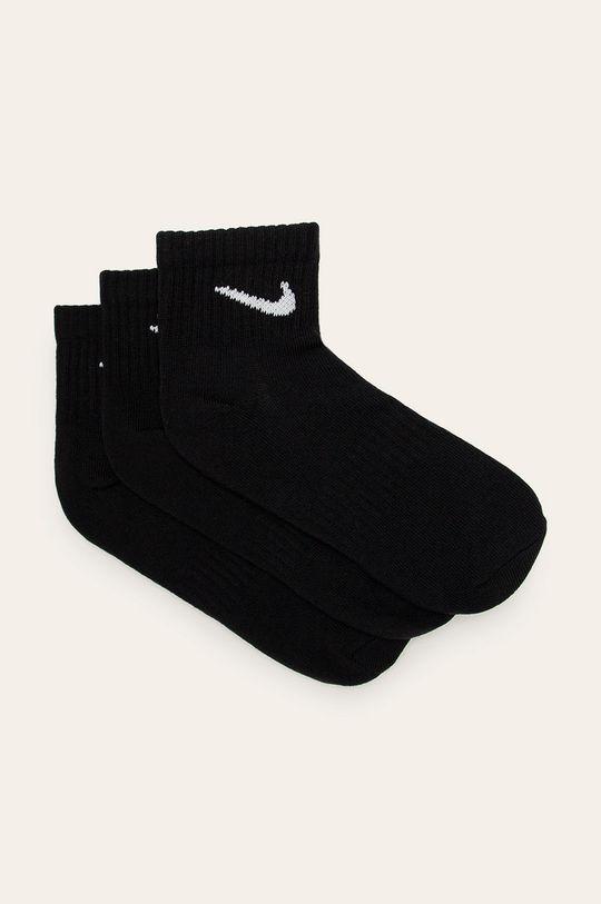 čierna Nike - Ponožky (3-pak) Pánsky