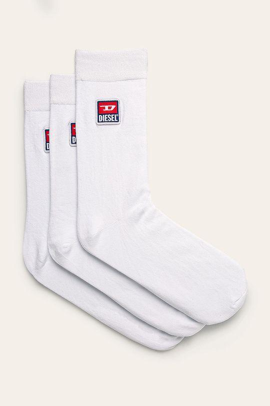 bílá Diesel - Ponožky (3-pack) Pánský