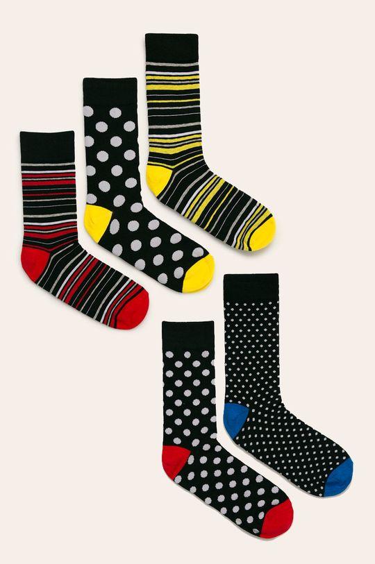 многоцветен Brave Soul - Чорапи (5-бройки) Чоловічий