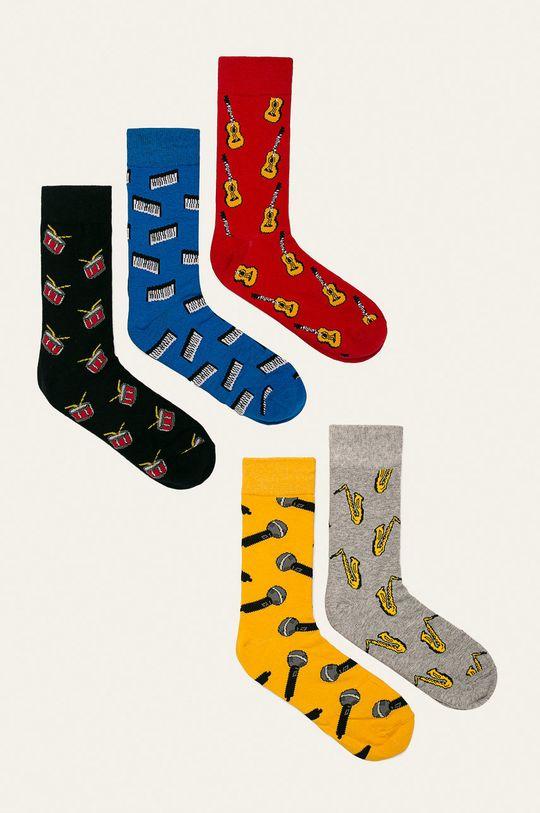 многоцветен Brave Soul - Чорапи (5 бройки) Чоловічий