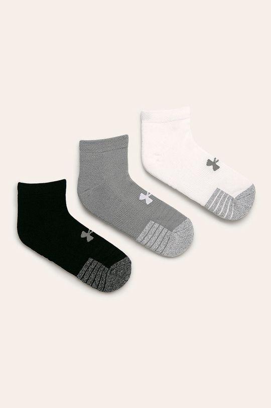 šedá Under Armour - Ponožky (3-pack) Pánský
