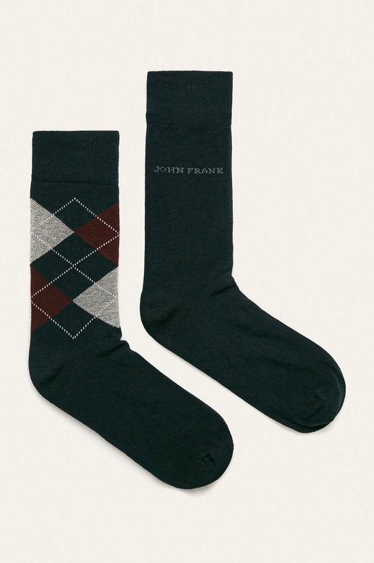 tmavomodrá John Frank - Ponožky (2 pak) Pánsky