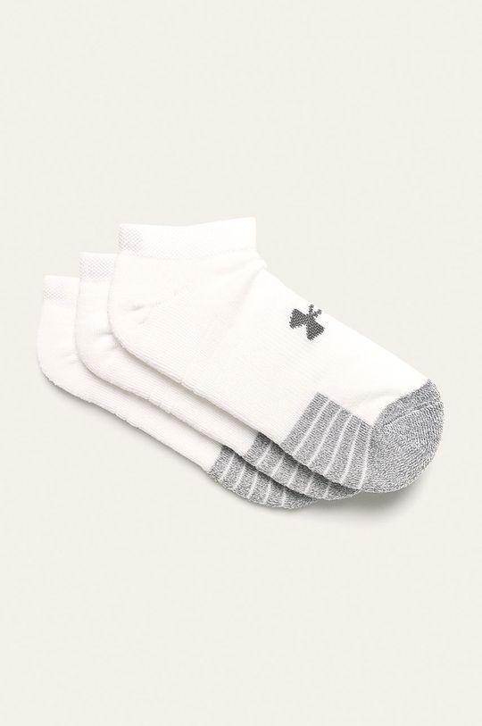 biela Under Armour - Ponožky (3-pak) Pánsky