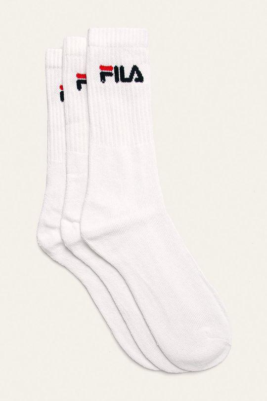 бял Fila - Чорапи (3 бройки) Чоловічий