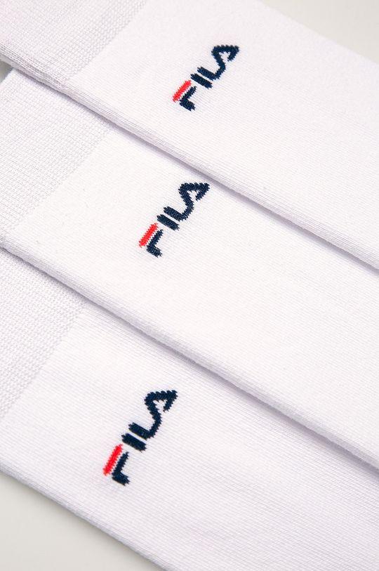 Fila - Skarpety (3 pack) biały