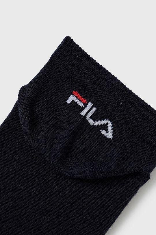 Fila - Ponožky (3-pak) tmavomodrá