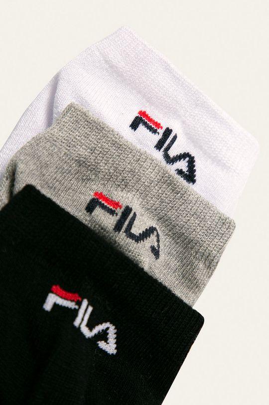 Fila - Ponožky (3-pack) šedá