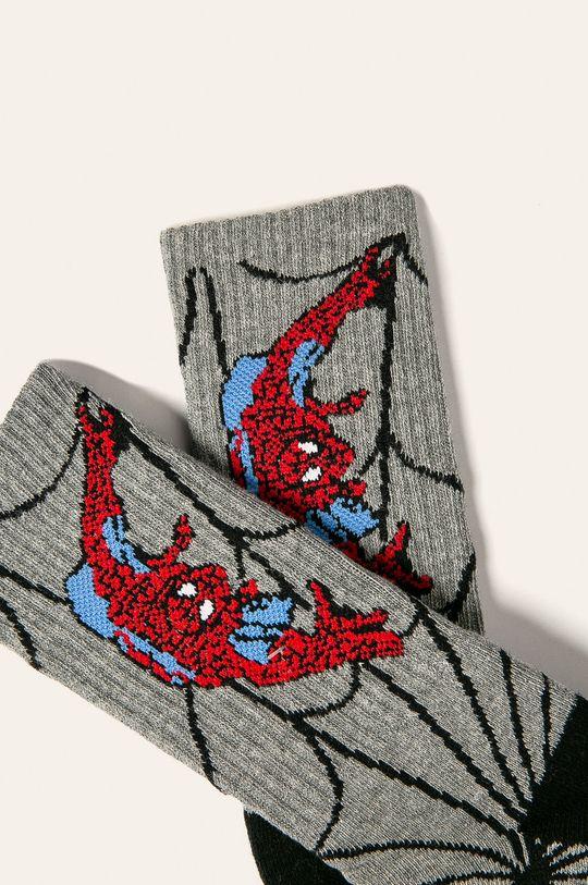 Vans - Ponožky sivá
