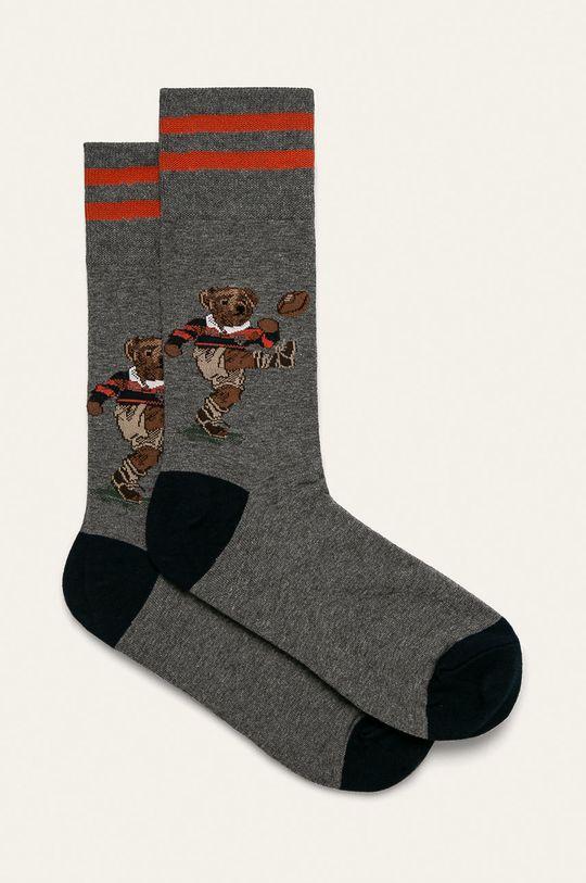 šedá Polo Ralph Lauren - Ponožky Pánský