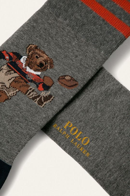 Polo Ralph Lauren - Ponožky šedá