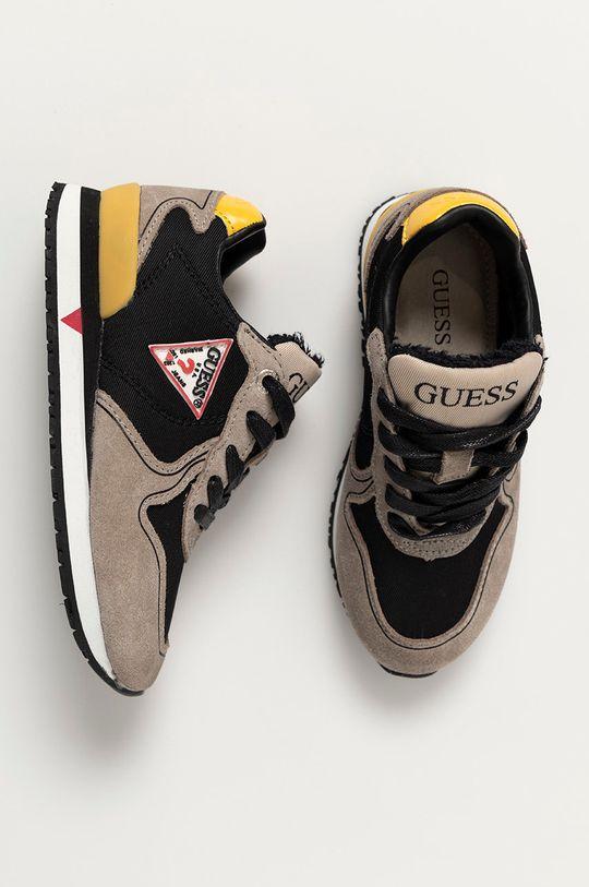 černá Guess Jeans - Dětské boty