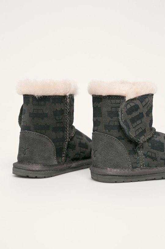 Emu Australia - Detské snehule Toddle Cars & Trucks  Zvršok: Prírodná koža Vnútro: Merino vlna Podrážka: Syntetická látka