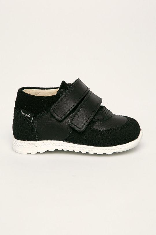 čierna Mrugała - Detské topánky Chlapčenský