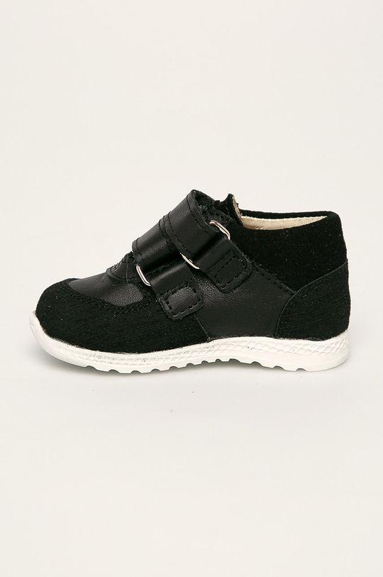 čierna Mrugała - Detské topánky