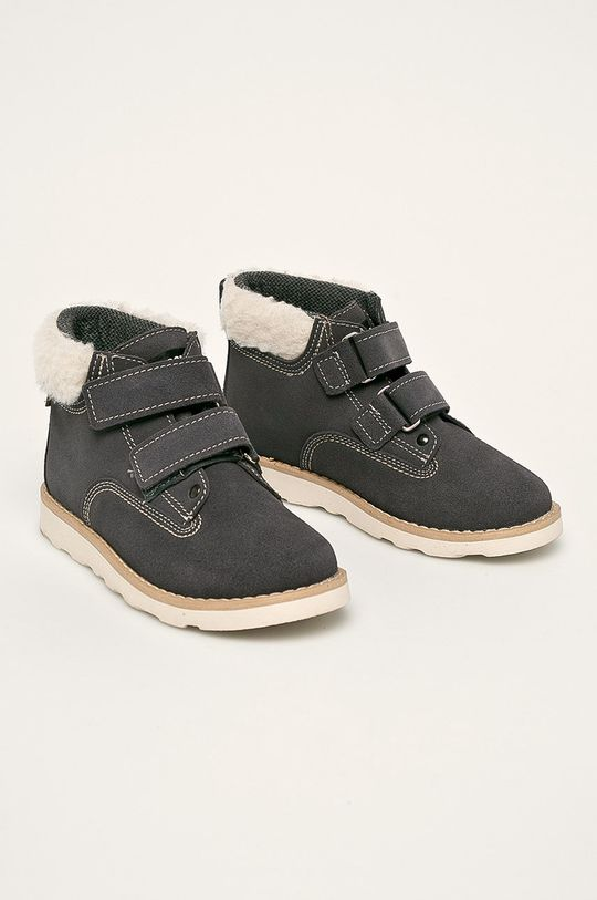 Mrugała - Detské topánky svetlosivá