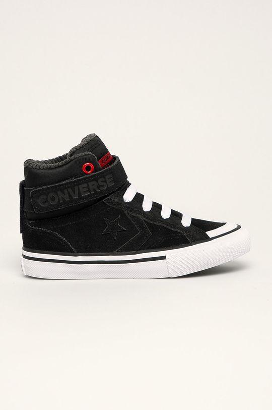 čierna Converse - Detské tenisky Chlapčenský