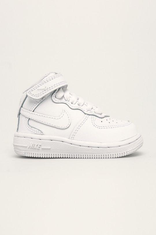 alb Nike Kids - Pantofi copii Air Force 1 Mid De băieți