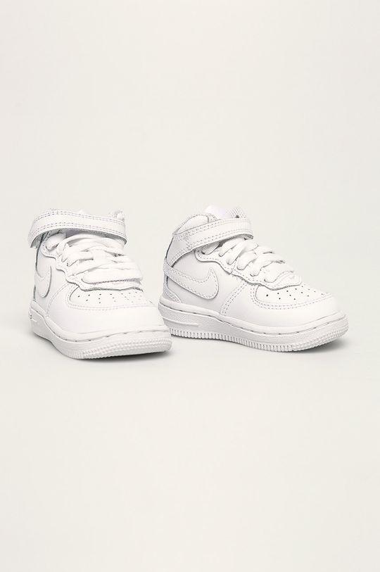 Nike Kids - Pantofi copii Air Force 1 Mid alb