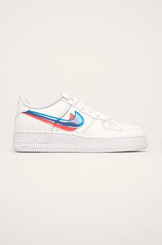 biela Nike Kids - Detské topánky Air Force 1 Lv8 Chlapčenský