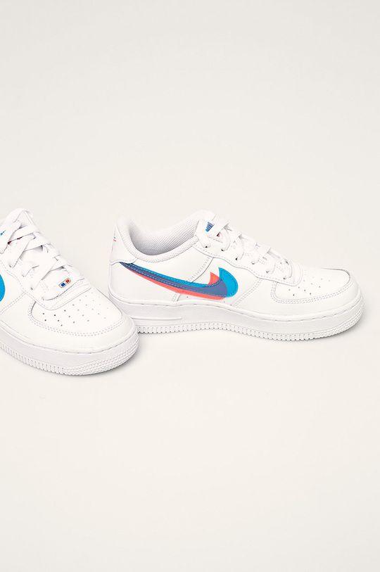 Nike Kids - Detské topánky Air Force 1 Lv8 biela
