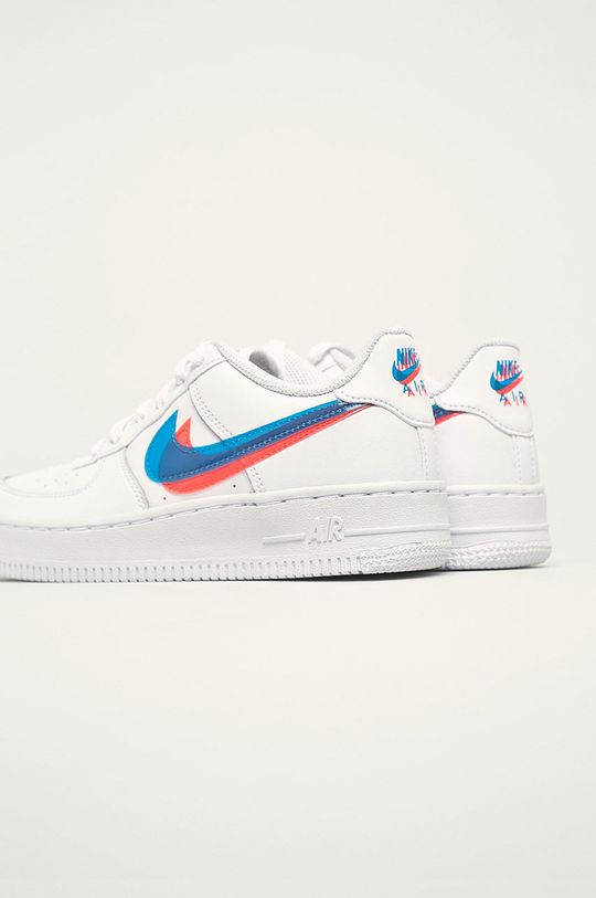 Nike Kids - Detské topánky Air Force 1 Lv8  Zvršok: Syntetická látka, Prírodná koža Vnútro: Textil Podrážka: Syntetická látka