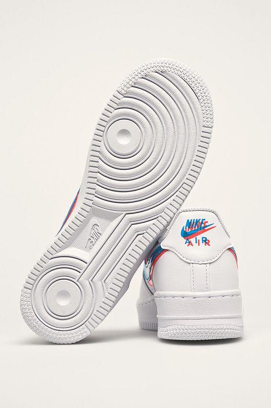 biela Nike Kids - Detské topánky Air Force 1 Lv8